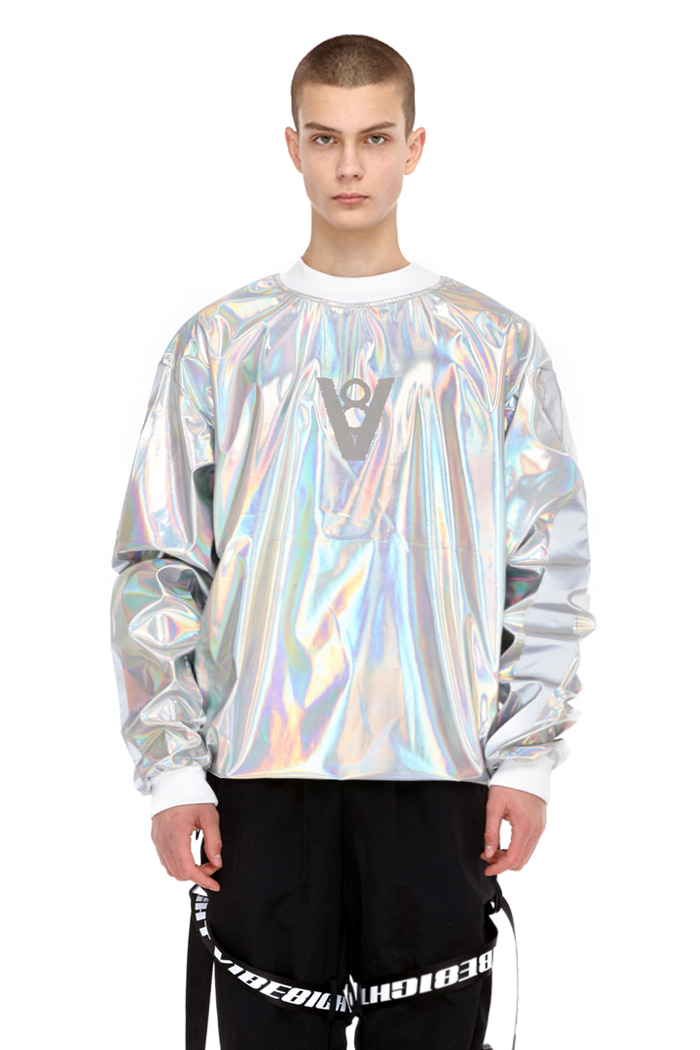 LINE SCOTCHLITE TOP (SILVER)