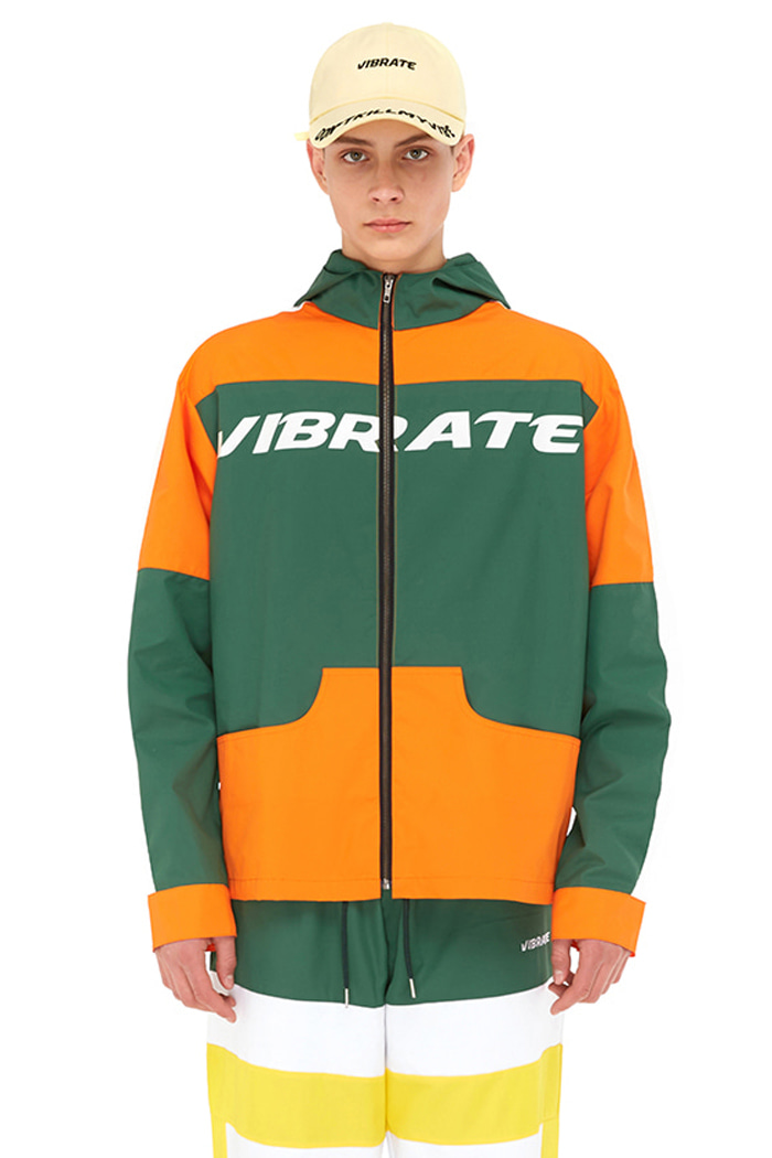 VIBE COMBINATION WIND BREAKER (ORANGE)