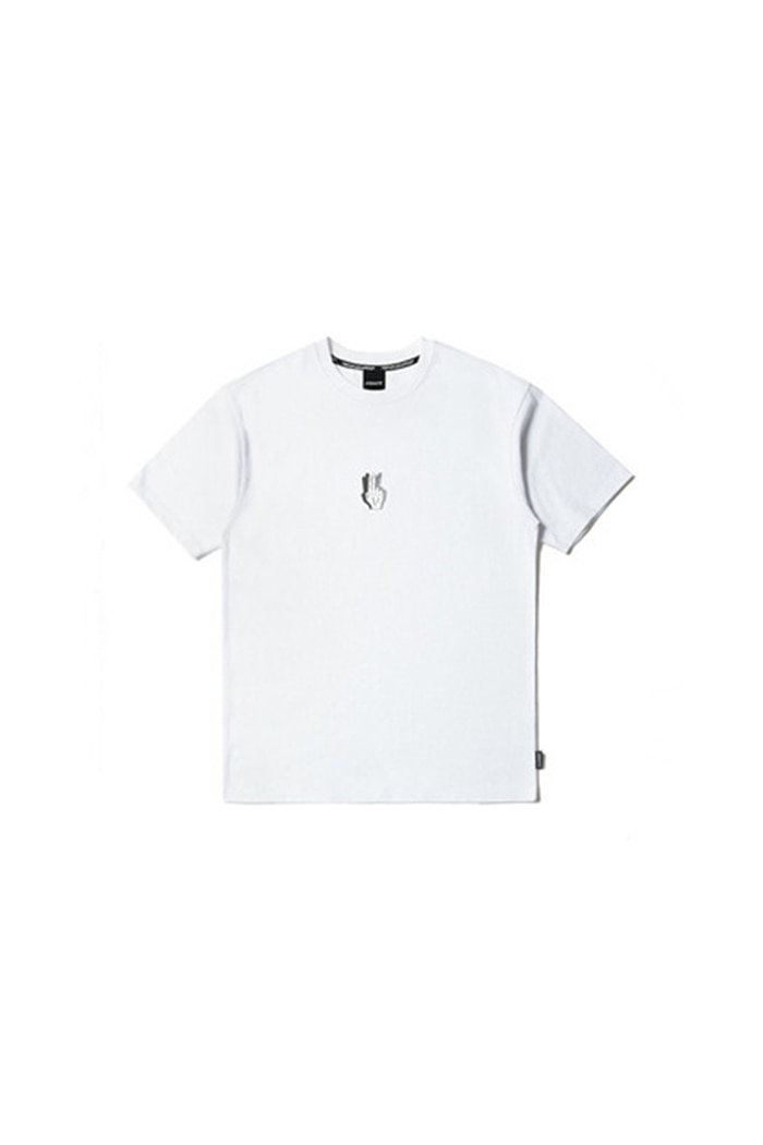 HANDSHAKE MIDDLE T-SHIRT (WHITE)