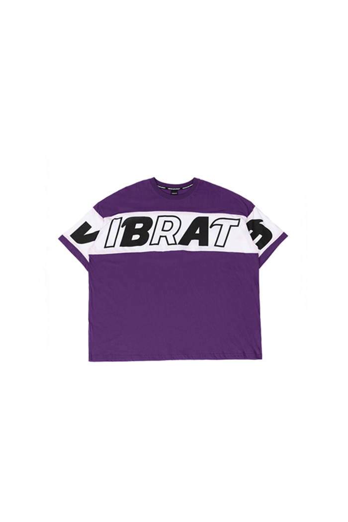COLOR SCHEME LOGO T-SHIRT (PURPLE)