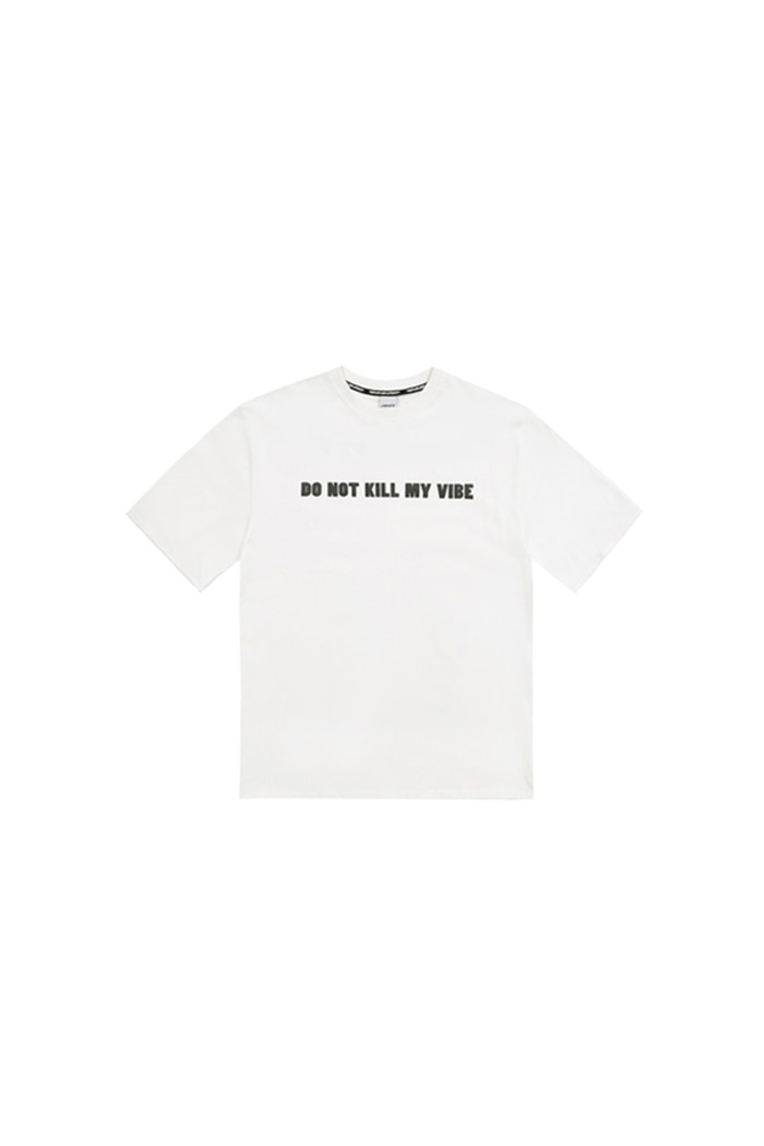 SLOGAN PRINTING T-SHIRT (WHITE)