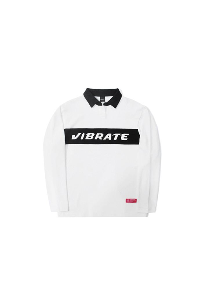 BOTTLE LOGO POLO SHIRT (WHITE)