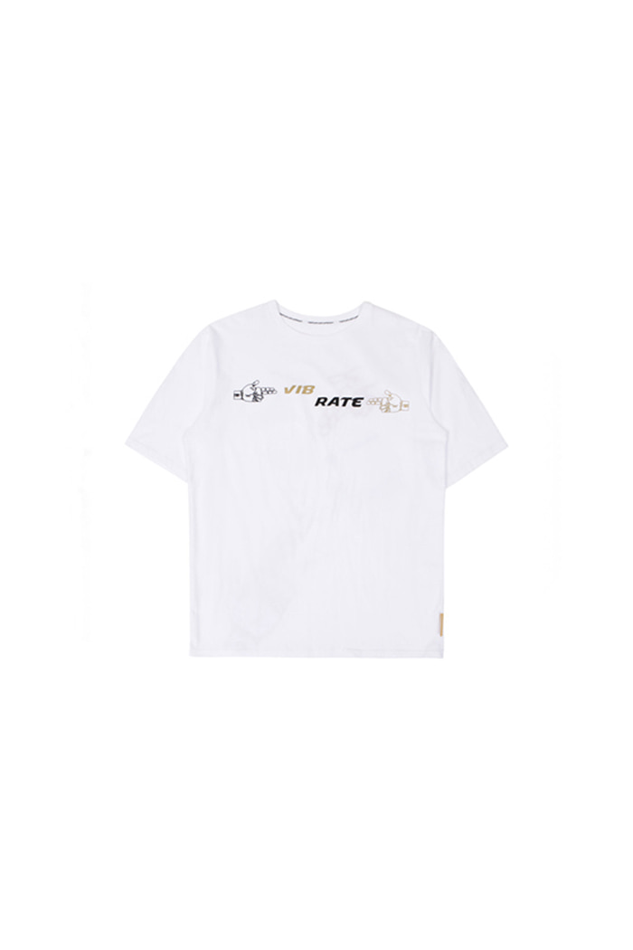 MONEY GUN ARTWORK T-SHIRT (WHITE)