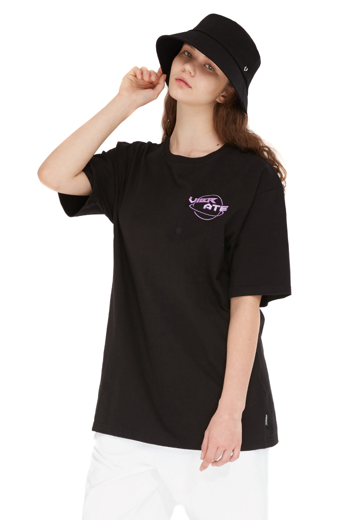 NEON HANDSIGN T-SHIRT (BLACK)
